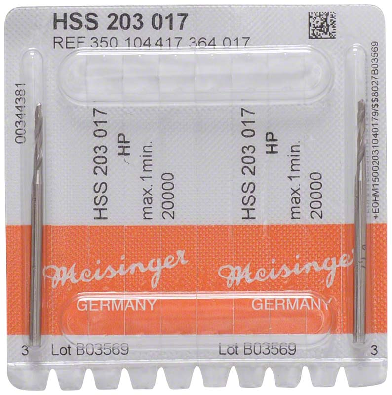 Spiralbohrer HSS 203