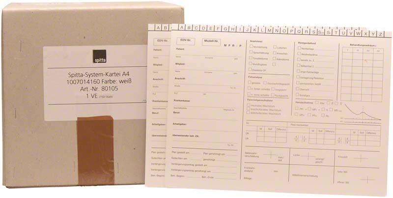 System Karteikarten KFO