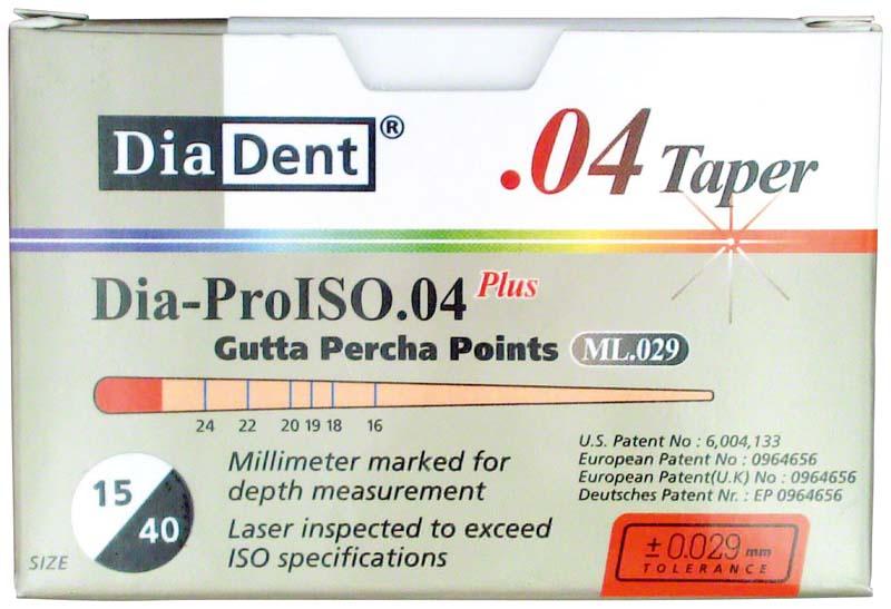 Dia-Prolso Plus Guttapercha-Spitzen