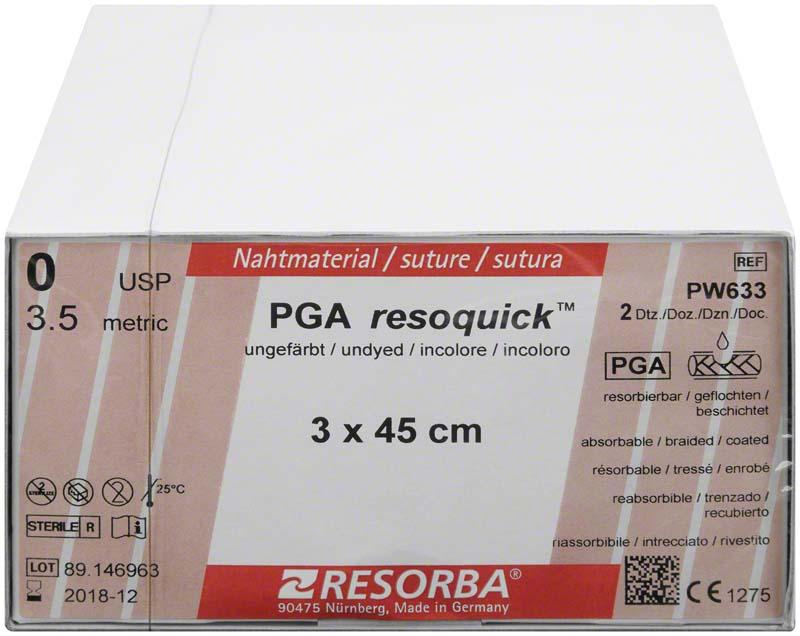 PGA resoquick™ Fäden