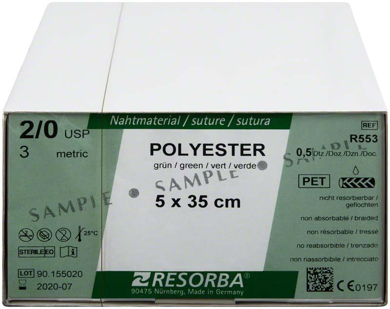RESORBA® Polyester Fäden