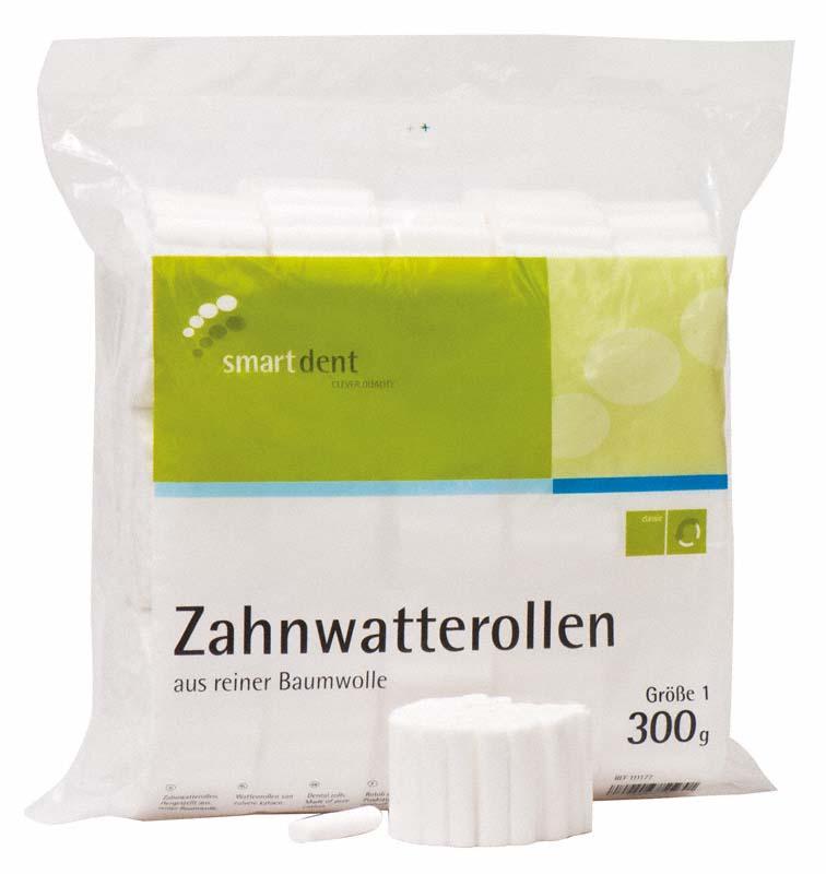 smart Zahnwatterollen