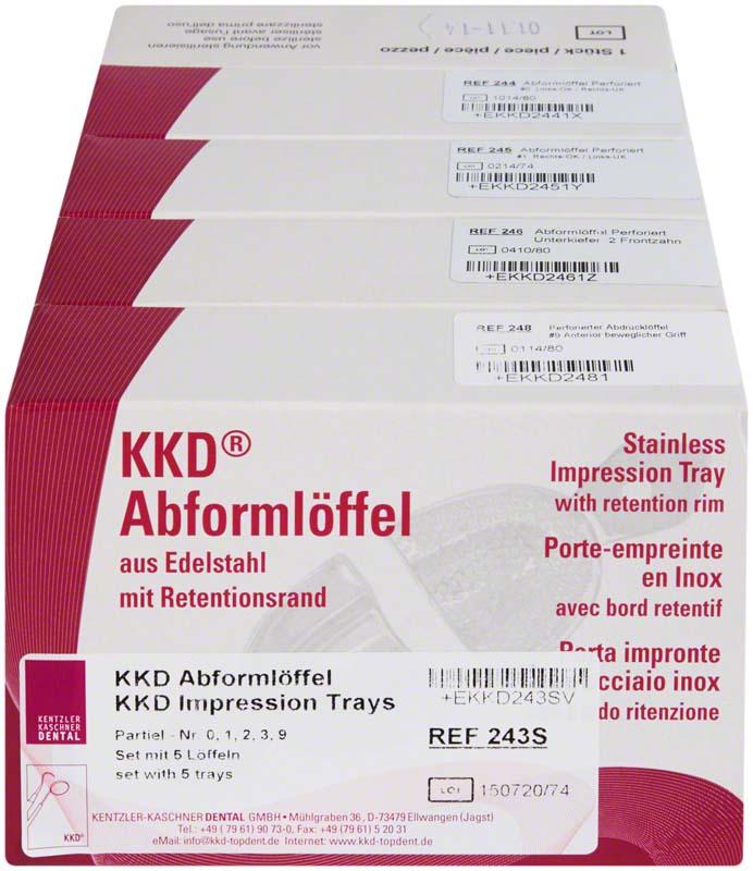 KKD® Abformlöffel Abdrucknahme