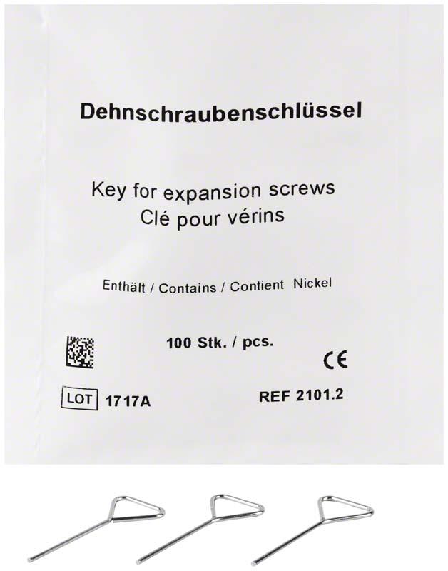 Einzelzahn-Dehnschlüssel