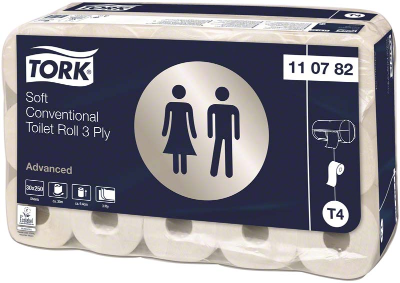 TORK® extra weiches Kleinrollen Toilettenpapier