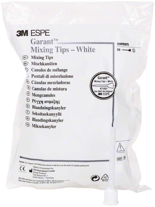 Garant™ Mischkanülen weiß