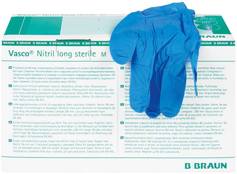 Vasco® Nitril long steril