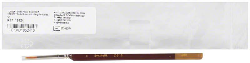 TOPDENT Delta Dreikantpinsel Synthetikhaar