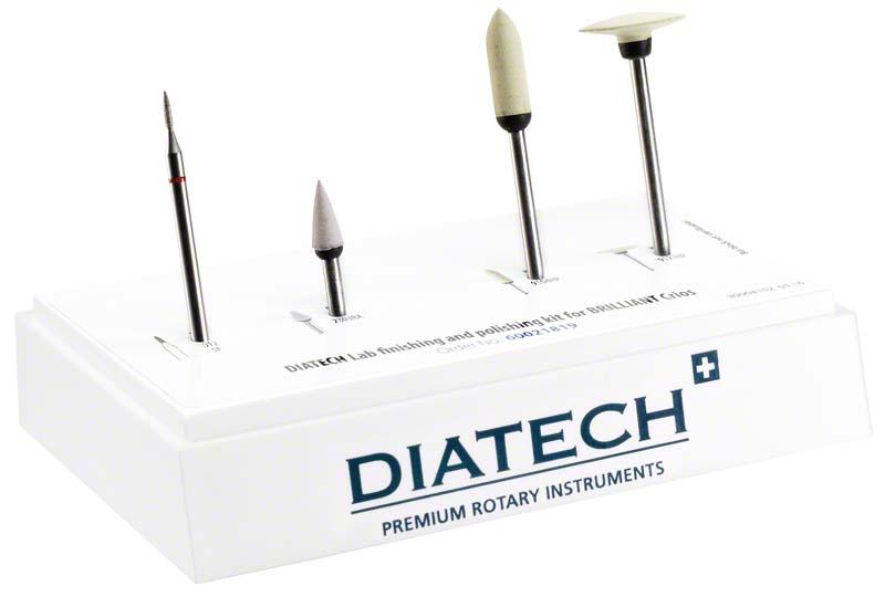 DIATECH Lab Finier & Polier Kit