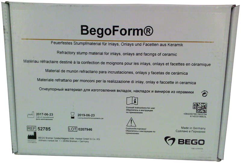 BegoForm