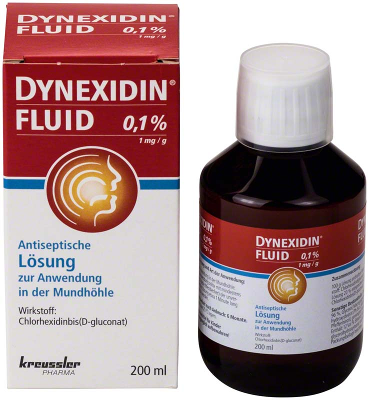 DYNEXIDIN® FORTE 0,1% CHX