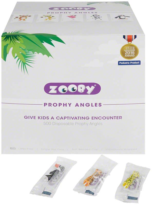 Zooby® Kinder Einweg-Winkelstücke