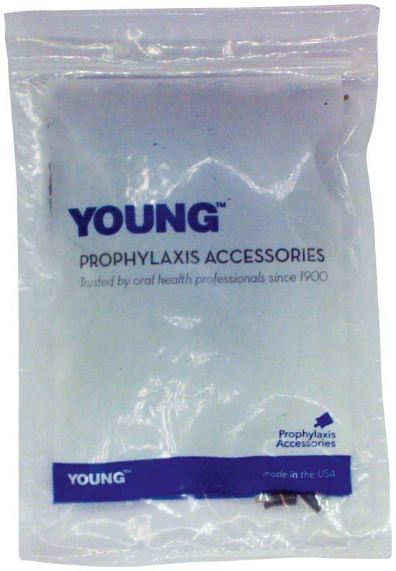 Young™ Prophylaxekelch Web grau/weiß