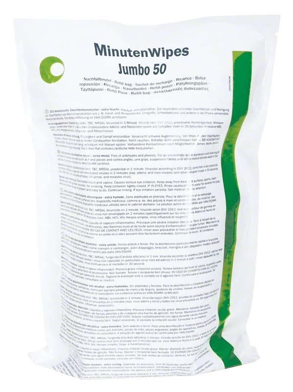 MinutenWipes Jumbo 50