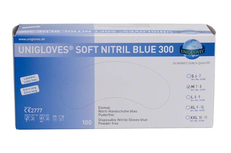 SOFT NITRIL BLUE 300