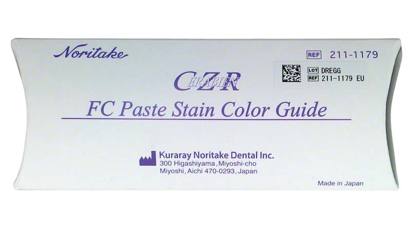 CERABIEN ZR FC Color Guide