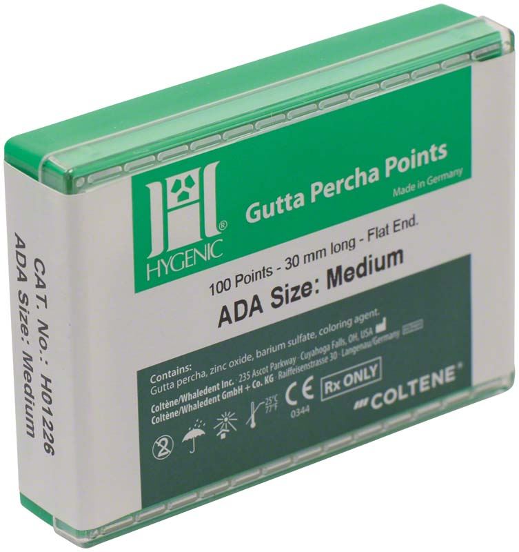 HYGENIC® Guttapercha Spitzen Conventional