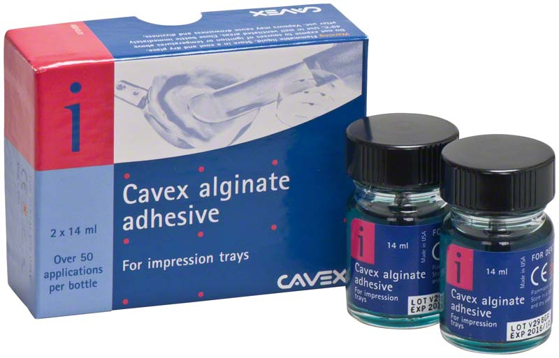 Cavex alginate adhesive