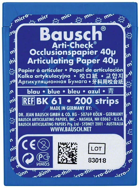 Occlusionspapier Arti-Check® 40 µ