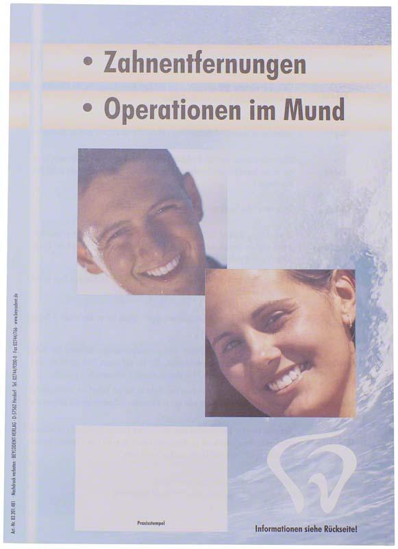 Patienten-Info Zahnentfernungen