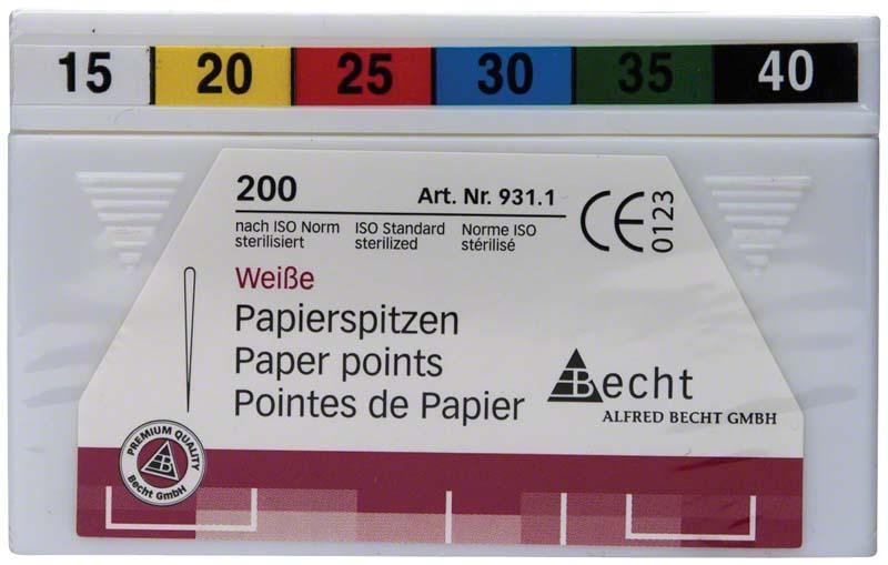 Papierspitzen weiß