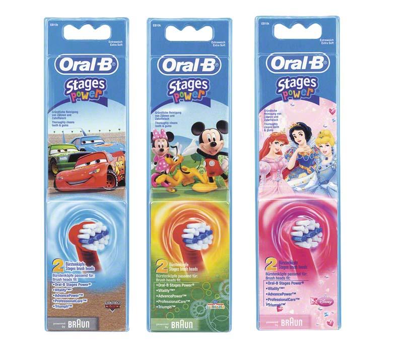 Oral-B® AdvancePower Kids Bürsten