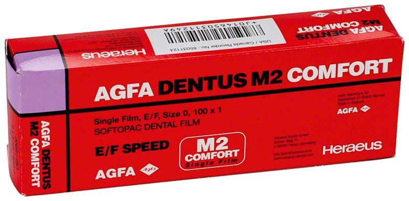 AGFA DENTUS® M2 COMFORT E/F-Film