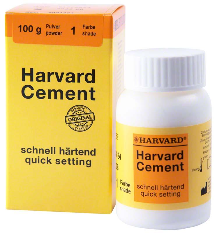 Harvard Cement schnell härtend