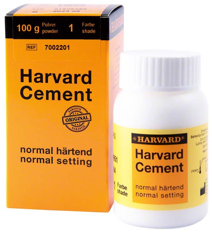 Harvard Cement normal härtend