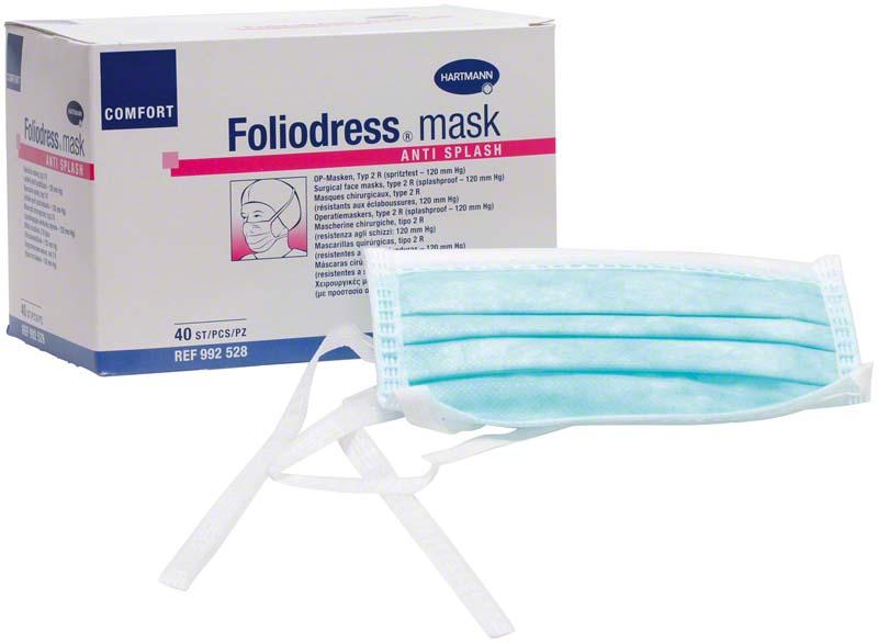 Foliodress® mask COMFORT ANTI SPLASH