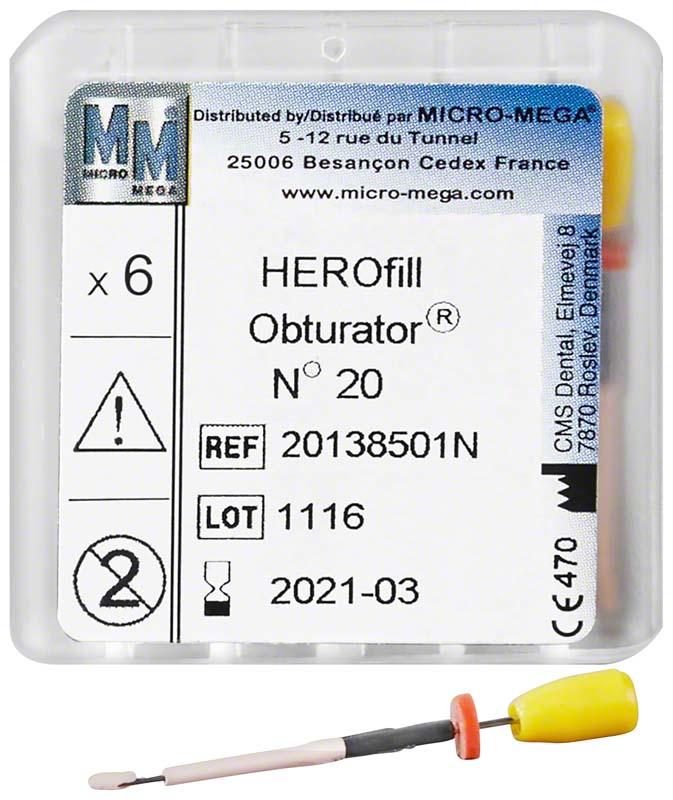 HEROfill® Obturatoren