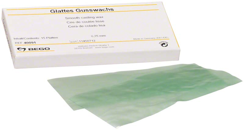 Glattes Gusswachs