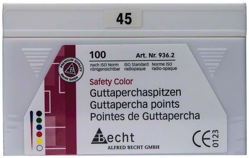 Guttaperchaspitzen Safety Color