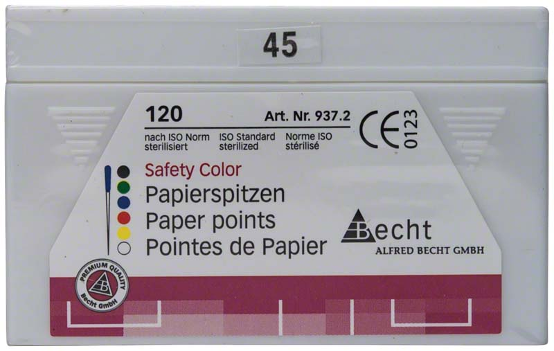 Papierspitzen Safety Color