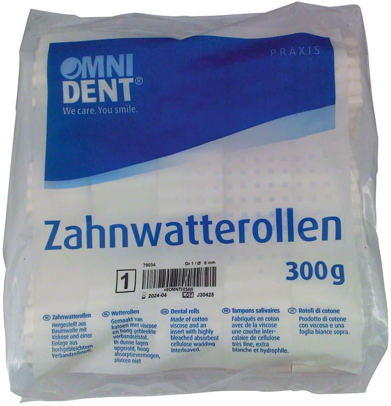 Zahnwatterollen
