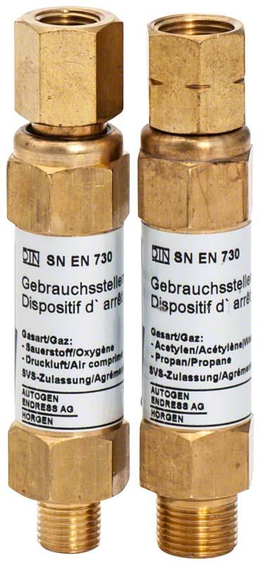 Gas Sparautomat Rückschlagventil