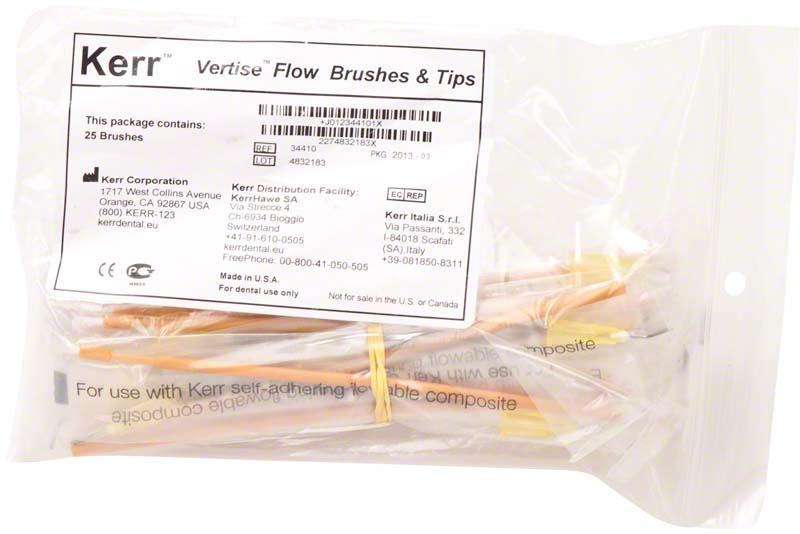 Vertise™ Flow Brushes & Tips