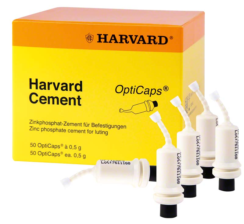 Harvard Cement OptiCaps®